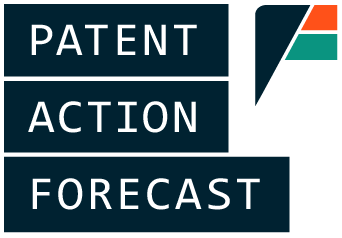Patent Action Forecast Logo
